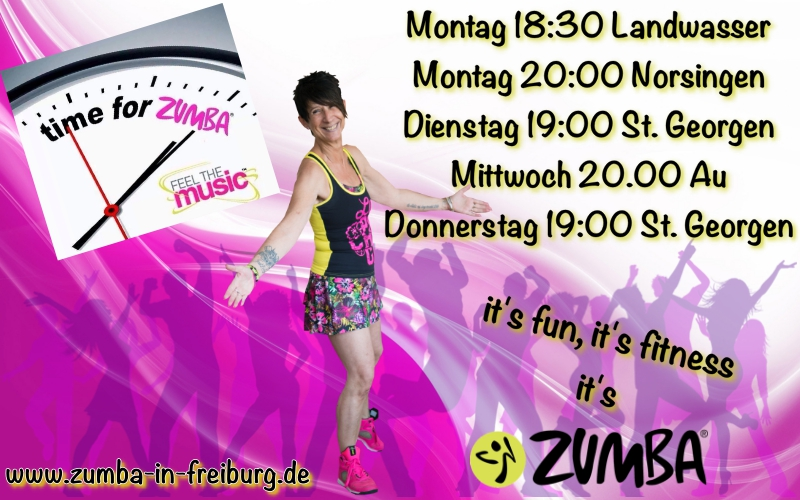 Time for ZUMBA 2